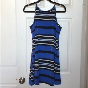 EXPRESS Striped Sleeveless Tunic